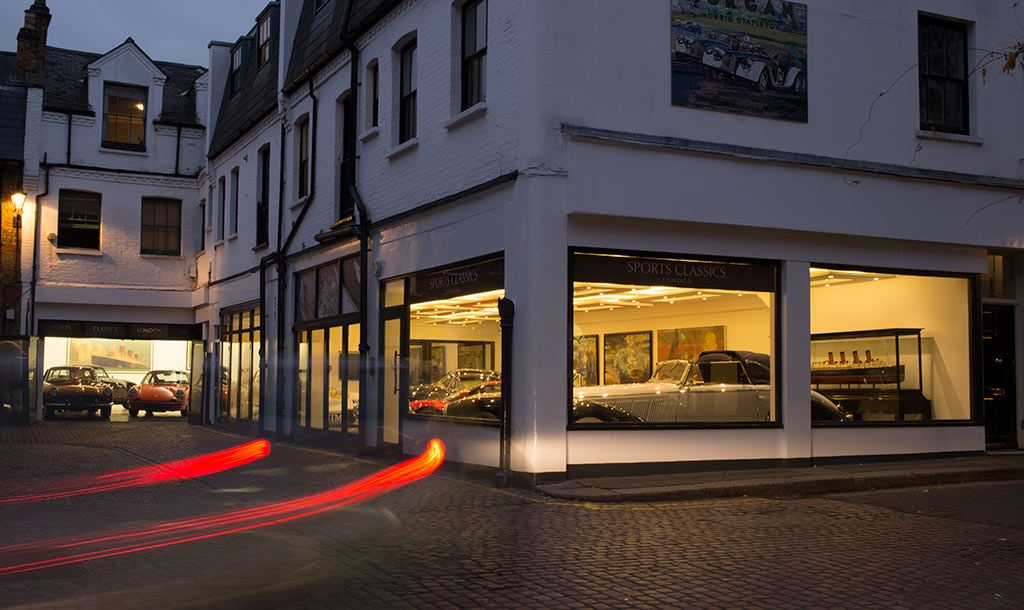 Sports Classics London - Classic car dealer returns to Reece Mews